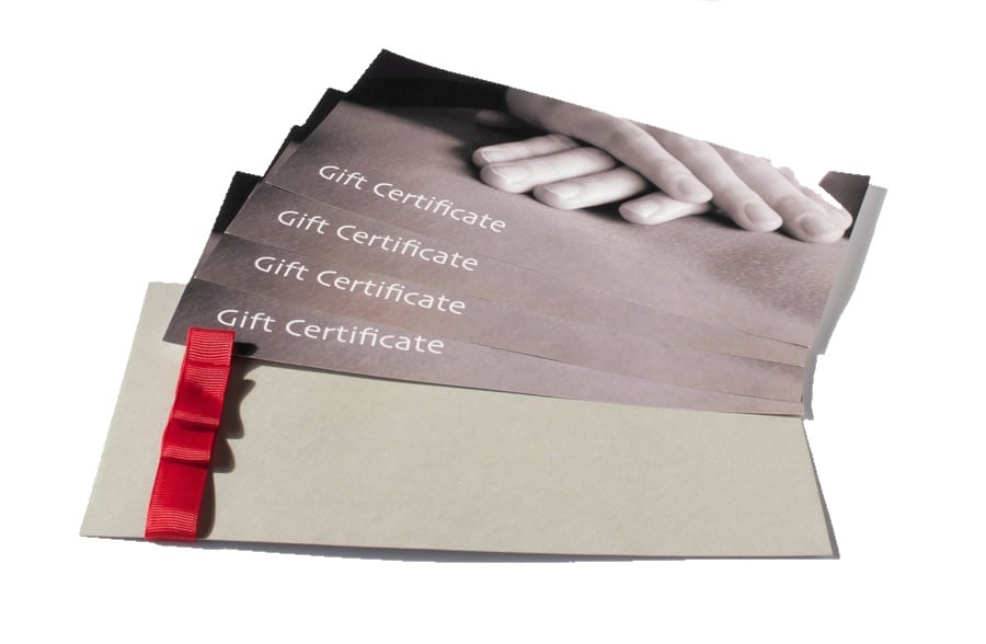 Massage Gift Certificate Resilience Massage and Training