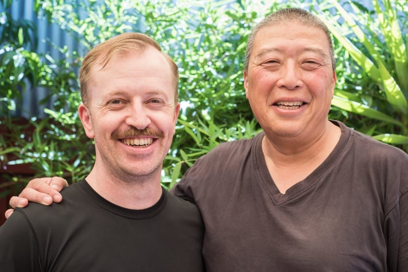 Martial Arts training with Sifu Dana in South Melbourne