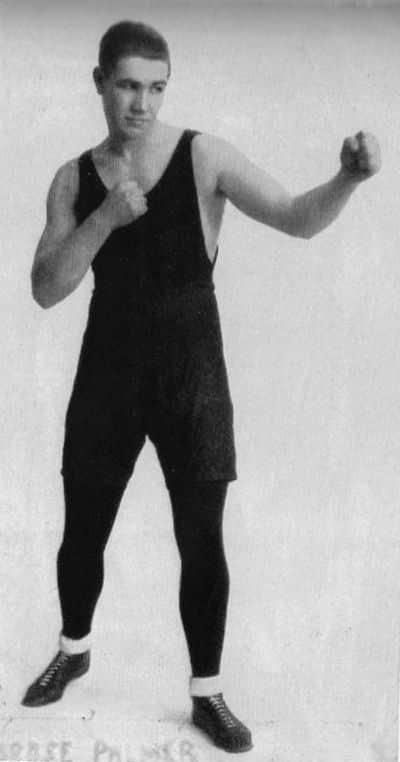 Australian boxer Ambrose Palmer